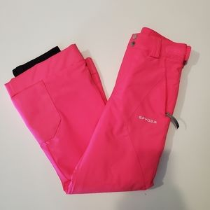 Spyder Girls Olympia Ski Pants New Without Tags